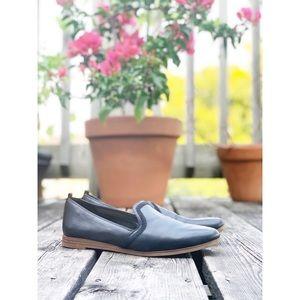 Aldo black loafer slip-on flats